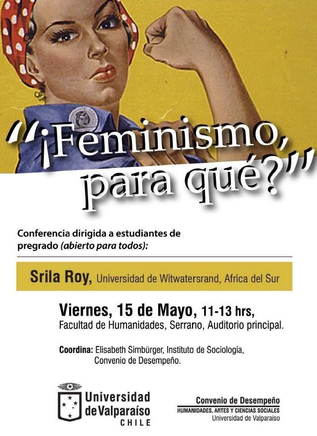 conferencia pregrado Srila Roy